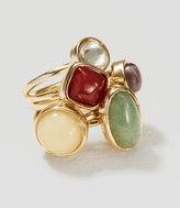 LOFT Mixed Stone Ring Set