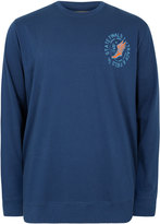 Yours Clothing BadRhino Mens Plus Size State Finals Printed Vintage Sweatshirt Crew Neck