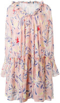 See by Chloe printed smock dress - women - Silk/Cotton - 38