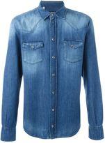 Dolce & Gabbana washed effect denim shirt