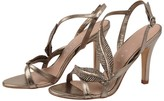 Lola Cruz Gem Leaf Sandal