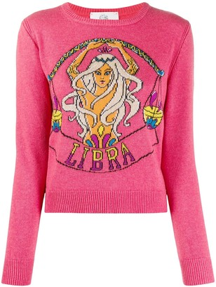 Alberta Ferretti Libra-instarisia sweater