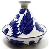 Le Souk Ceramique Jinane 1.5 Qt. Ceramic Round Tagine