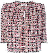 Sonia Rykiel tweed cropped jacket