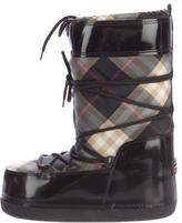 Burberry Patent Snow Boots