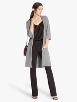 Halston Wool Blend Cardigan Sweater