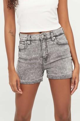 Ardene High Waist Denim Shorts