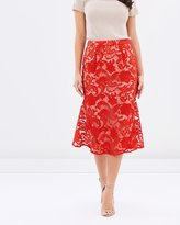 Cooper St Carnation Lace Skirt