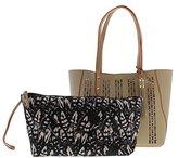 Jessica Simpson Carole Laser Tote Bag
