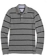 Tommy Hilfiger Men's Long Sleeve Custom Fit Polo
