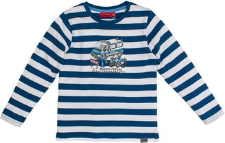 Salt&Pepper Salt and Pepper Boy's Longsleeve Police Stripes T-Shirt