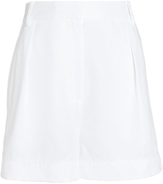 Tibi Soft Suiting Shorts