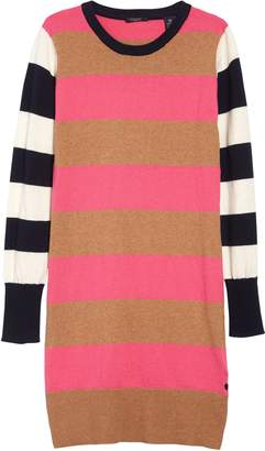 Scotch R'Belle Stripe Long Sleeve Sweater Dress