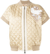 No.21 quilted bomber jacket - women - Cotton/Polyester/Viscose - 44