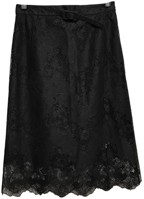 Carven Black Synthetic Skirts