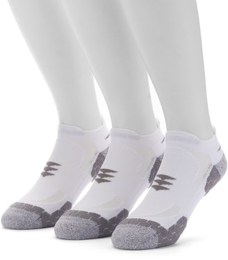 Gold Toe Men's GOLDTOE 3-pack Power Sox Apex Pro Double-Tab No-Show Socks