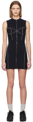 Heron Preston Black Active Short Dress
