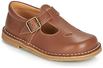 Citrouille et Compagnie GLARCO girls's Shoes (Pumps / Ballerinas) in Brown