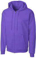 Clique Powder Purple Fleece Zip-Up Hoodie - Unisex