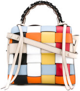 Elena Ghisellini Crossed tote - women - Calf Leather - One Size