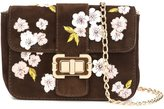 Monique Lhuillier small 'Bianca' shoulder bag - women - Suede - One Size