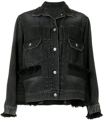 Sacai Raw Edge Denim Jacket