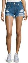 Rag & Bone Distressed Cut-Off Denim Shorts, Freeport