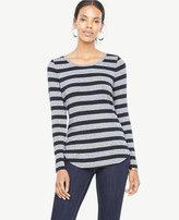 Ann Taylor Petite Stripe Jersey Layering Top