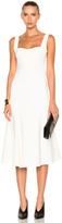 Victoria Beckham Flare Midi Dress
