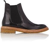 Barneys New York Women's Leather Chelsea Boots-BLACK
