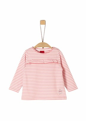 S'Oliver Baby Girls' 65.911.31.7709 Long Sleeve Top
