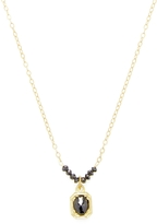 Ila Women's Celia Black Diamond Necklace