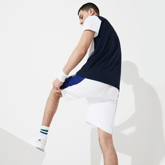 Lacoste Men's SPORT Logo Two-Tone Shorts