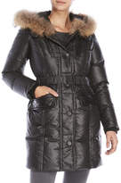 Rudsak Lily Real Fur Trim Down Coat