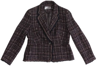 Jaeger Multicolour Wool Jacket for Women