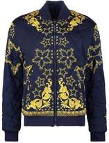 Versace Collection Bomber Jacket Blu