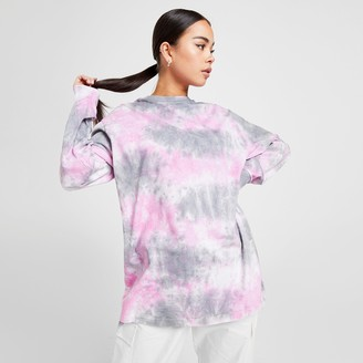 Supply And Demand Women's Supply & Demand Tour Tie-Dye Long-Sleeve Shirt