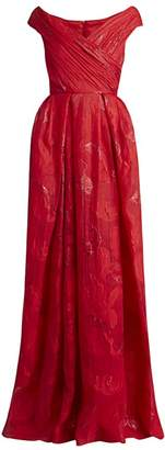 ZUHAIR MURAD El Rocio Jacquard Ball Gown