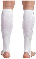 2XU Stirrup Calf Guards (White/White) - Accessories