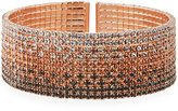 Fragments for Neiman Marcus Ombré Crystal Bracelet, Rose Gold