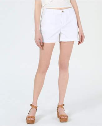 Maison Jules Flat-Front Chino Shorts