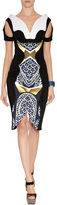 Peter Pilotto Vera Dress in Marble Gold