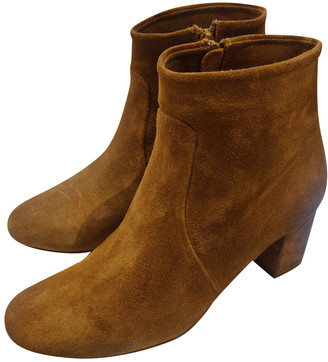 Sessun Brown Suede Boots