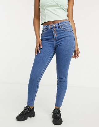 Blank NYC skinny jeans in varsity blue