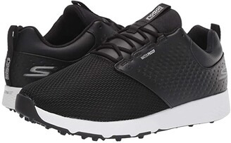 Skechers GO GOLF Elite 4-Prestige (Black/White) Men's Golf Shoes