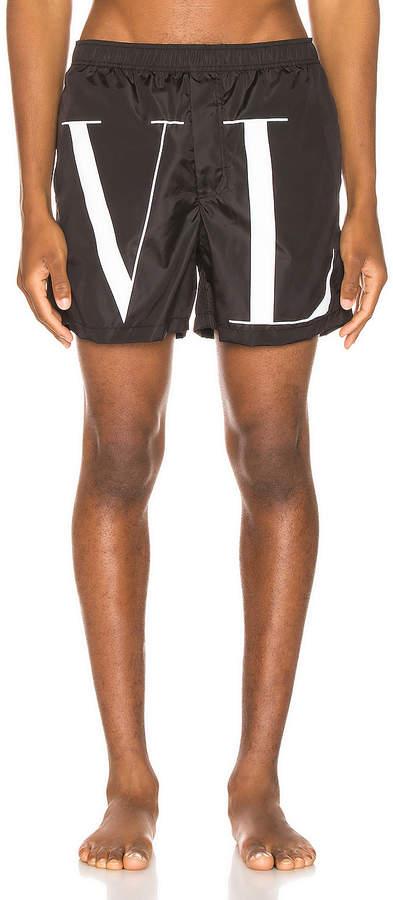 ae49c7b6b8 Valentino Black Men's Swimsuits - ShopStyle