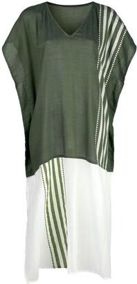Lemlem Eshe striped kaftan dress