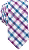 Bar III Men's Milli Plaid Slim Tie, Only at Macy's