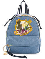 See by Chloe Joyrider patch backpack