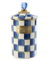 Mackenzie Childs Royal Check Large Canister